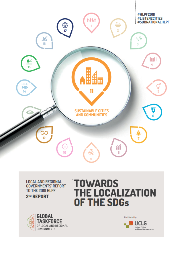Towards the localization ofthe SDGs