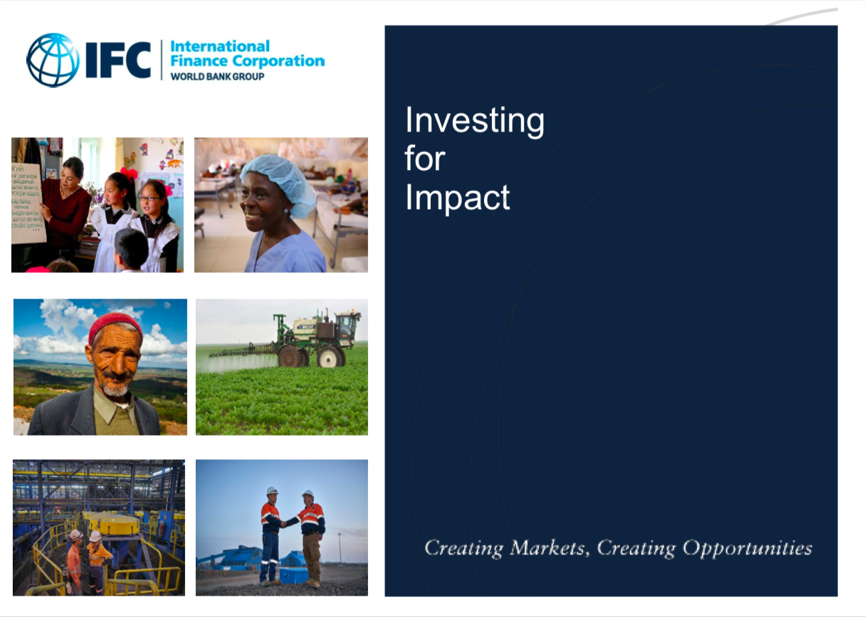 Investing for Impact